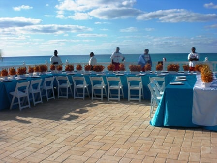 Holiday Island Wedding