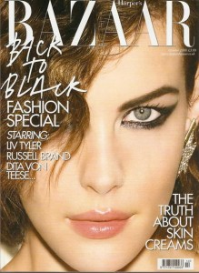 Liv Tyler Bazaar Cover Makeup Look