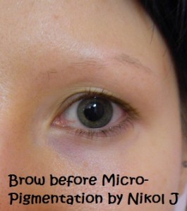 Beautiful Brows via Micro Pigmentation
