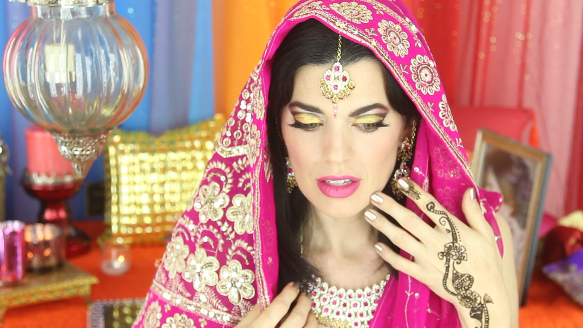 Indian Inspired Bridal Makeup Original Video for NYX Face Awards 2013