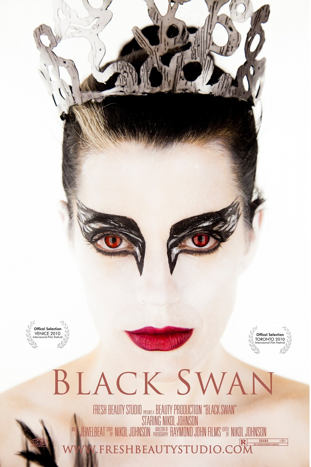 Black Swan Makeup Tutorial