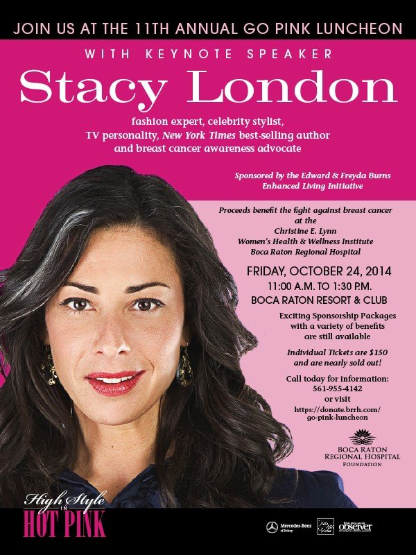 Hot Pink Luncheon with Stacy London