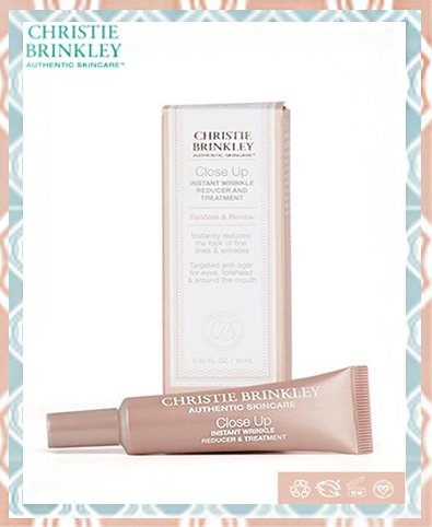 Christie Brinkley Close Up Wrinkle Reducer Review