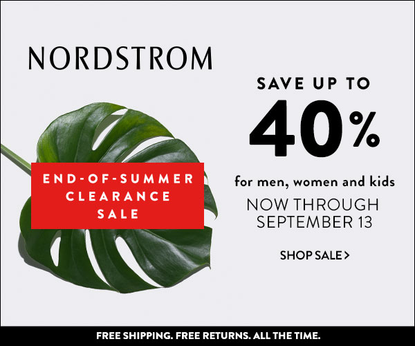 Nordstrom End Of Summer Sale
