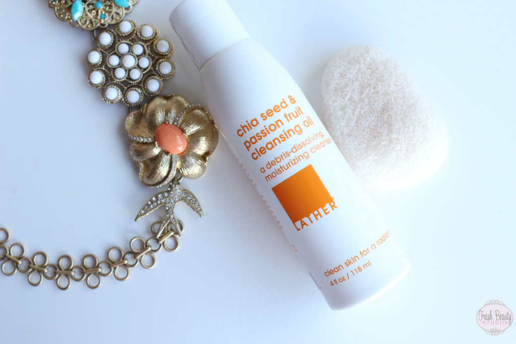 LATHER: Chia Seed & Passion Fruit Cleansing Oil Review