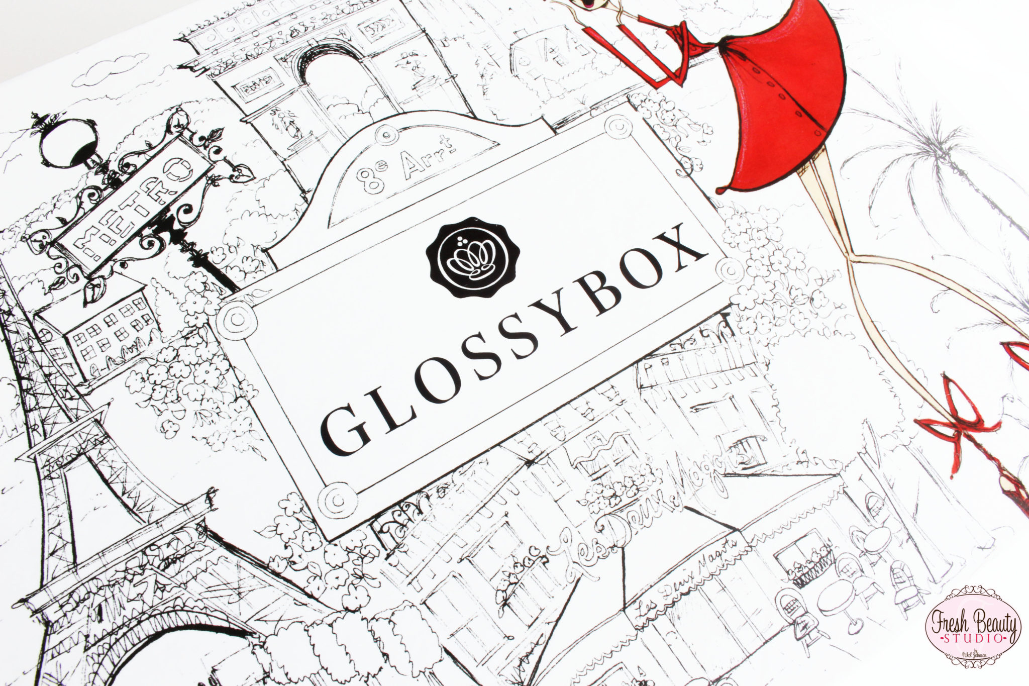 "October ""Vive la France"" Glossybox Review"