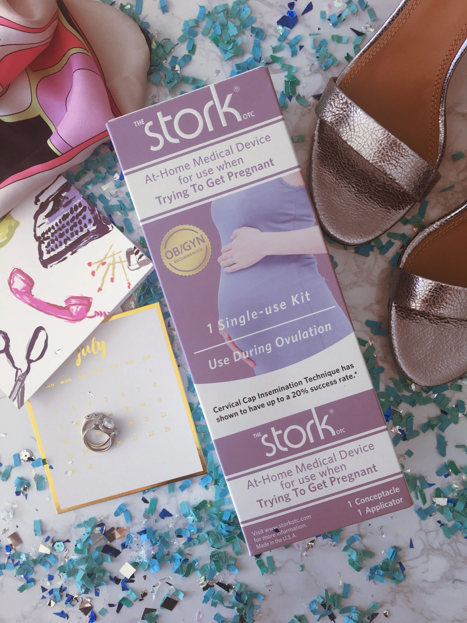 Modern Love With The Stork Otc The Stork Conception Aid