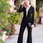 How To Make a Jumpsuit Sexy, Sophisticated and Classy with Escada