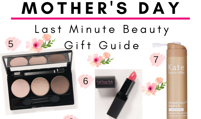 Last Minute Mother's Day Beauty Guide By On Air Expert Nikol